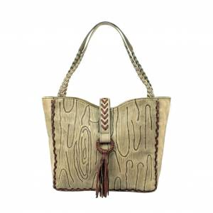 American West Driftwood Tote Bag