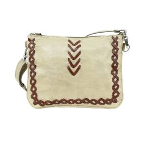 American West Wood River Multi-Compartment Crossbody Bag