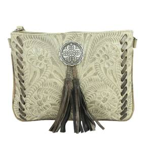 American West Lariats And Lace Multi-Compartment Crossbody Bag