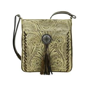 American West Lariats And Lace Messenger Bag