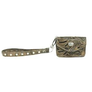 American West Lariats And Lace Credit Card/Wallet Wristlet