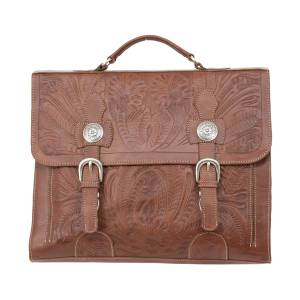 American West Stagecoach Multi-Compartment Laptop Briefcase