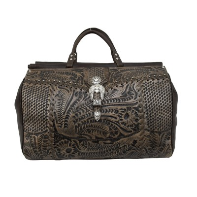 American West Retro Romance Duffle Bag