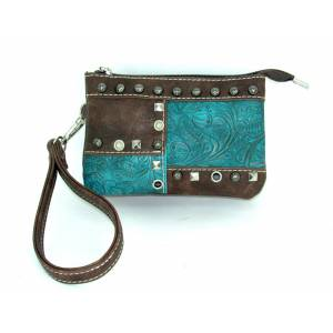 Savana Event Approved Wristlet With Patchwork Design