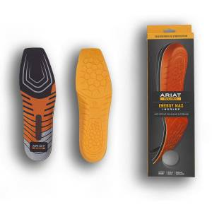Ariat Mens Energy Max Work Wide Square Toe Insoles