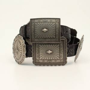 Ariat Ladies Embossed Concho Belt