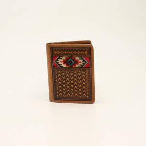 Ariat Bifold Flip Concho Brainly Wallet