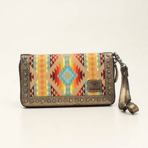 Ariat Ladies Cruiser Southwest Matcher Clutch Purse