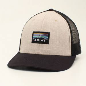 Ariat Mens Cactus Patch Cap