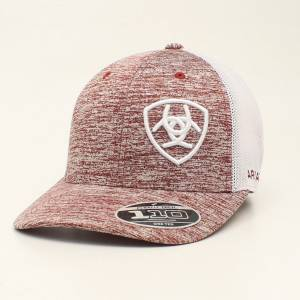 Ariat Mens FlexFit Embroidered Logo Cap