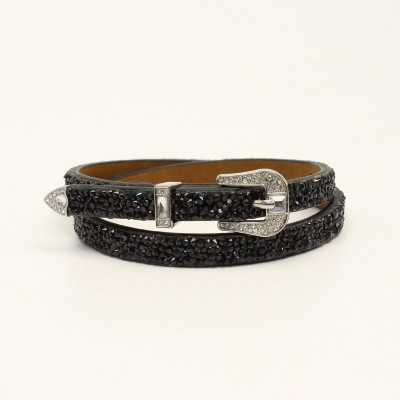 M&F Ladies Western Hatband 3D Stone Belt