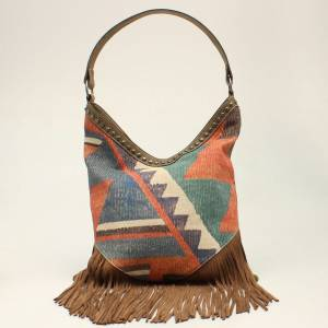 M&F Western Ladies Jenni Hobo Concealed Carry Purse