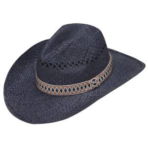 Ariat Twister Raffia Cowboy Vented Hat