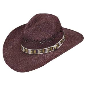 Ariat Twister Raffia Vented Cowboy Hat