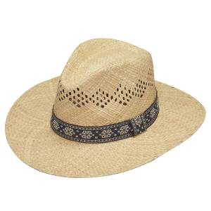 Ariat Twister Raffia Ribbbon Vented Hat