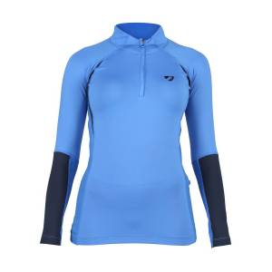 Shires Aubrion Ladies Newbury Long Sleeve Baselayer Shirt