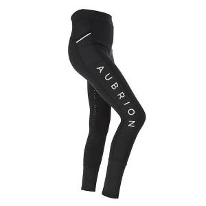 Shires Aubrion Kids Stanmore Riding Tights