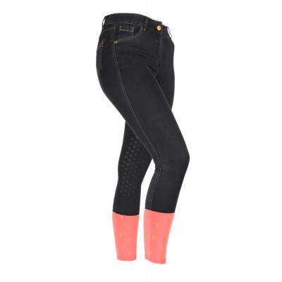 Shires Aubrion Ladies Putney Denim Breeches