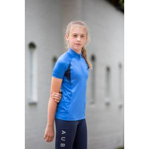 Shires Aubrion Kids Highgate Short Sleeve Baselayer Shirt