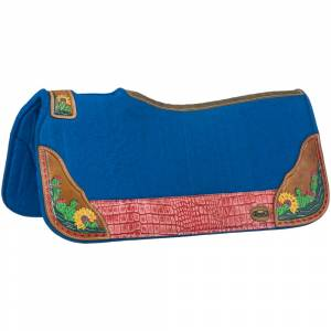 Tough-1 Hand Painted Felt Cactus Saddle Pad