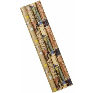 Gift Corral Western Gift Wrap Assortment