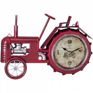 Gift Corral Tractor Table Top Clock