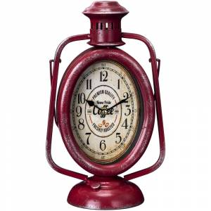 Gift Corral Lantern Table Top Clock