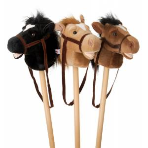 Gift Corral Plush Stick Horse With Sound
