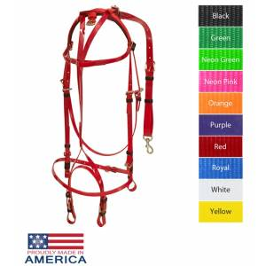 Feather-Weight Euro Open Bridle