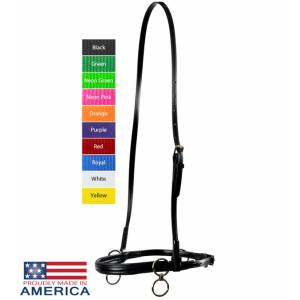 Feather-Weight Synthetic Two-Ring Race Halter