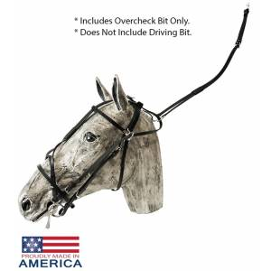 Feather-Weight US Style Double Overcheck Bridle