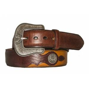 Jack Daniel's Old No.7 Western Belt with Conchos