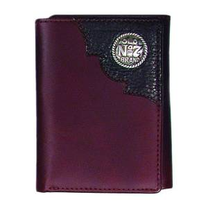 Jack Daniel's Mens Distillers Choice Collection Trifold Wallet