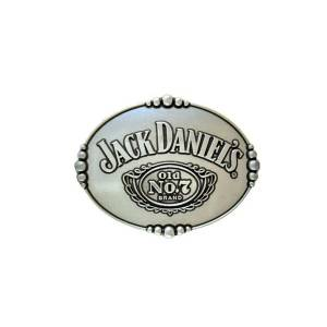 Jack Daniel's Oval Buckle with Traditional Logo