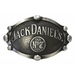 Jack Daniel's Old No.7 Oval Large Beaded Buckle