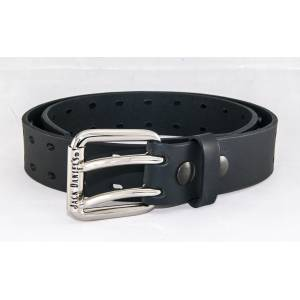 Jack Daniel's Made in USA Double Hole Punched Belt