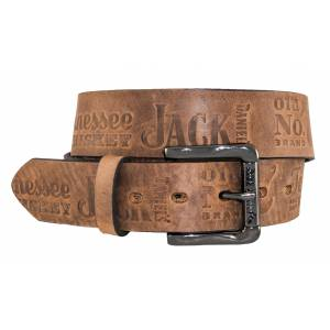 Jack Daniel's Made in USA Belt with Contemporary Pattern