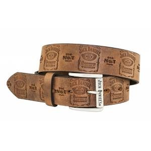Jack Daniel's Made in USA Belt with Traditional Pattern