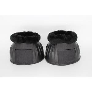 TuffRider ESD Ribbed Bell Boots with Hook and Loop Tape, Fleece & Side Strips