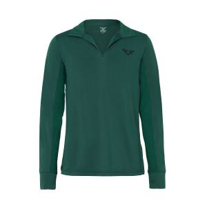 TuffRider Kids Taylor Long Sleeve Polo