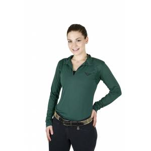 TuffRider Ladies Taylor Long Sleeve Polo