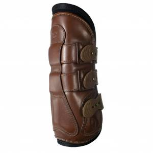Majyk Equipe Leather Tendon Jump Boot With Removable Impactec Liners and Snap Closure