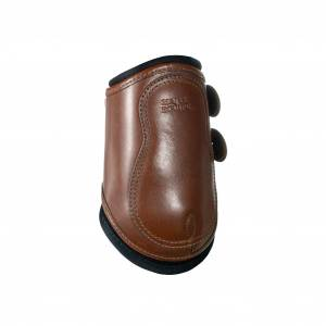 Majyk Equipe Leather Hind Jump Boot With Removable Impactec Liners and Snap Closure