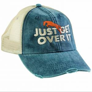 Just Get Over It Mesh Back Cap