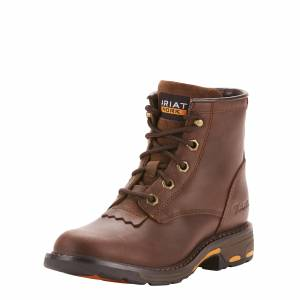 Ariat Kids WorkHog Lacer Boots
