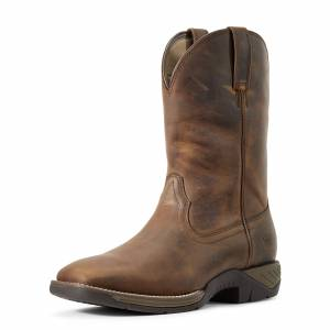 Ariat Mens Ranch Work Western Boots