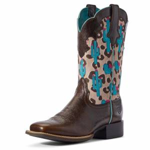 Arait Ladies Round Up Willow Western Boots