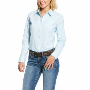 Ariat Ladies Wrinkle Resist Kirby Stretch Long Sleeve Shirt