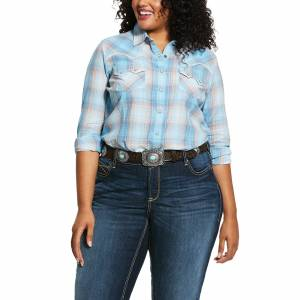 Ariat Ladies R.E.A.L. Western Sky Long Sleeve Shirt