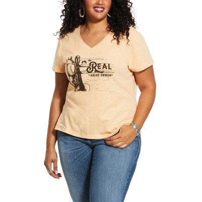 Ariat Ladies R.E.A.L. Country Scene V-Neck T-Shirt